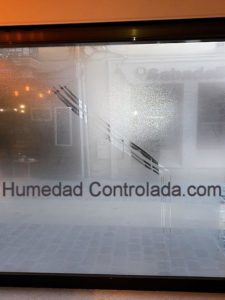 condensación interior
