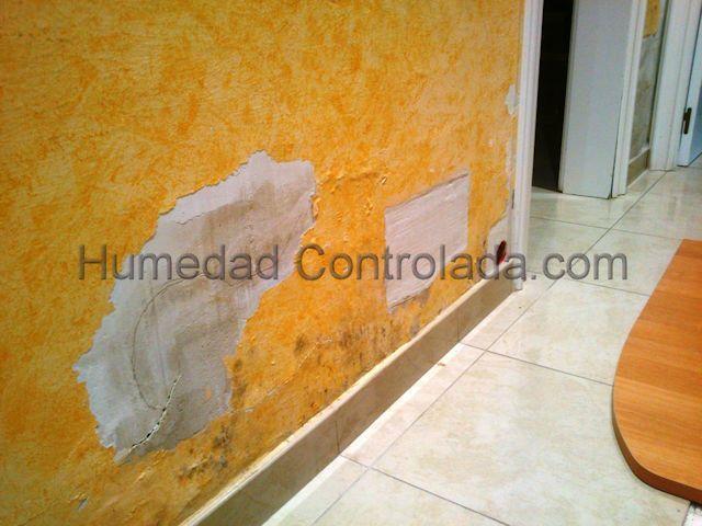 Humedad en paredes quitar la humedad capilaridad - Quitar humedad de las paredes ...