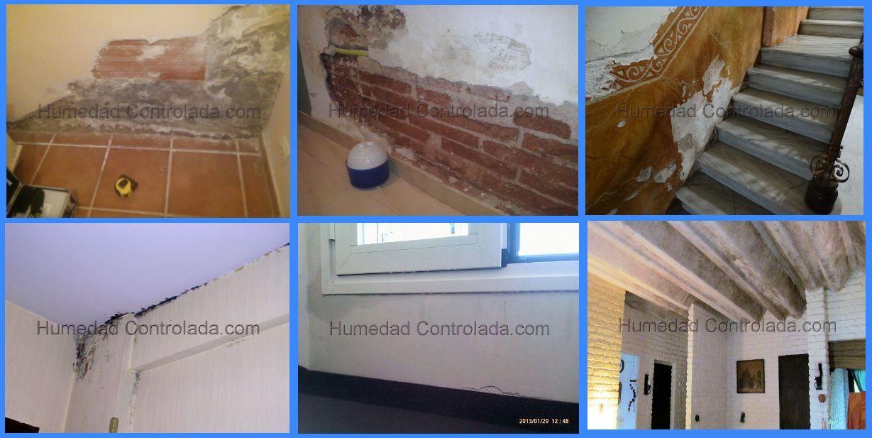 Las humedades que afectan tu casa quita la humedad de la for Humedad ideal en casa