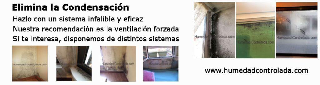 eliminar la condensación